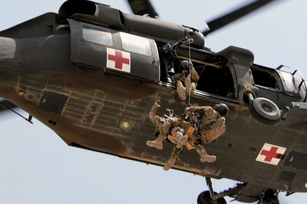 Rescue Helicopter Hoisting